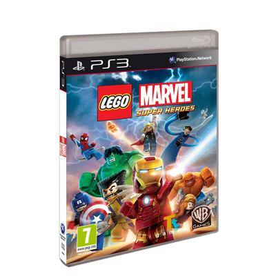 Zonatecno Juego Para Ps3 Lego Marvel Super Heroes