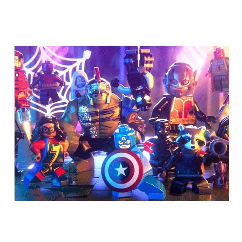 Zonatecno Juego Para Ps4 Lego Marvel Super Heroes 2